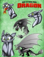 Badge Buddies - HTTYD Toothless by RegineSkrydon