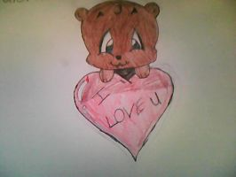 bear with valentine heart by sweetcookie34