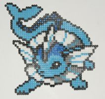 Pokemon Bead: Vaporeon by Titovn