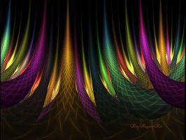 Rainbow Forest by Rozrr