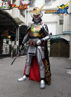KAMEN RIDER KIWAMI ARMS COSPLAY by freetomovekito