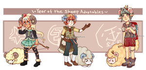 Year of the sheep adopts [closed] by C-ren