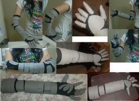 Vriska Robo Arm Picture Collage by XD-eviltoast-XD