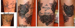 A Coverup of Roses by johndevilman