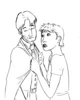 Remus and Tonks by mechaban