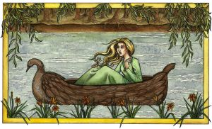 The Lady of Shalott by AnneCat