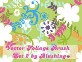 Vector Foliage Brush Set II by blushing