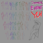 SUMMER EVENT YCH by Luxianne