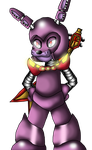 Bonnie Robot Master Colored by CrossoverGamer