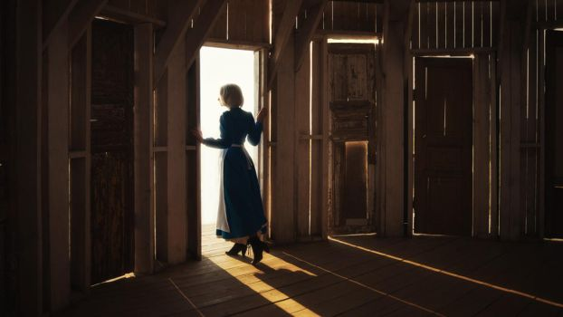 Howl's moving castle: Door to the new world by MiraMarta