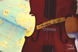 Music is life by endika1995