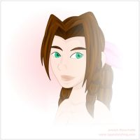 FF VII:  Aerith by LegendaryFrog