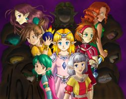 The Seven Maidens by Malu-CLBS