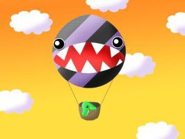 hot-air balloon by hyky