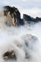 Huang Shan Mountain-5 by SAMLIM