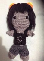 Karkat from Homestuck sackboy doll by Artsuberry