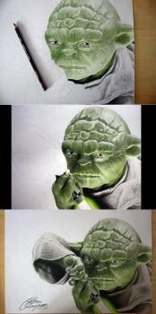 The making of Yoda by Lageveen
