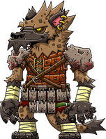 Gnoll by Hologramzx