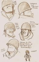 Faces of Soldier by tsunamisilvers