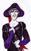 Young judge Frollo by Howlingmojo