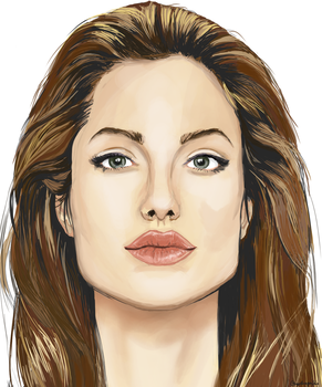 Angelina Jolie by snapdragon360