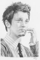 Elijah Wood by BilquisEvely