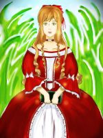 Lady in Red by thercinea