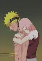 Over ~ Naruto Shippuden by TheMuseumOfJeanette