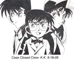Case Closed Crew by KittenKagome