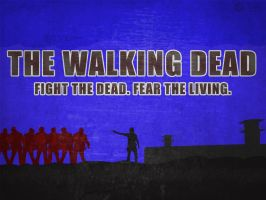 Walking Dead Wallpaper V4 by A-B-Original