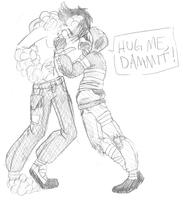 HUG ME DAMMIT - L4D by TechnoRaverCall