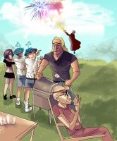 Venture Brothers 4th by MeghanJinx