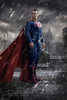Dawn Of Justice- Superman - Colour Edit by Grimeministar
