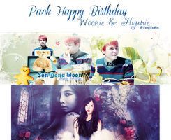 [Pack Cover] HPBD DongWoon and HyunA by YongYoMin