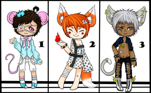 Adopts 9 [CLOSED] by DramaticPumpkin12