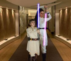 Relik Rayder and Padawan by RelicRaider