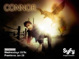 Buffy + Angel Wallpaper Poster: Connor by roaditr