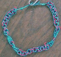 Chainmail bracelet by sioranth