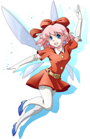BooDestroyer89 Commission: Ribbon - Kirby 64 by Kanokawa