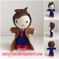 Doctor Who - David Tennant by xxtiffiee