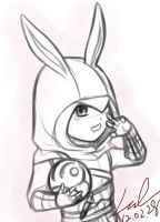 Rabbit Altair~ by myleel