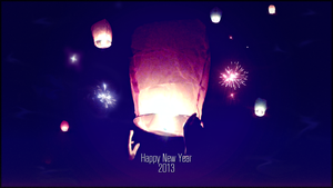 2013 Flying Candles Wallpaper by LETSOC