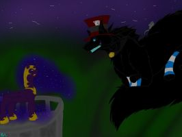 RP Related-'Throwing Another Tantrum, Nightlight?' by BlackDragon-Studios