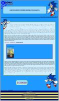 Sonic the Hedgehog Journal Skin by DrTrueBlueJS