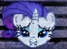 Perler Rarity by GeneralHound