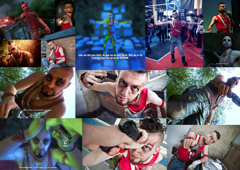 My Vaas Montenegro Cosplay Collage by StevenCojo
