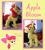 Apple Bloom Plushie by Amandkyo-Su