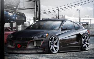 Hyundai Genesis Coupe - 2012 by hugerth