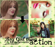Boy Girl Thing ACTION by runaways-rocks