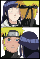 NaruHina - Just a kiss.. by NaruHina64